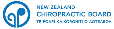 New Zealand Chiropractic Board Registered Chiropractor